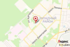 Адрес Симбирская энергосбытовая номинация на карте