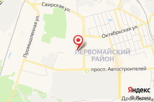 Адрес Газпром газораспределение Ульяновск, филиал в г. Димитровград, эксплуатационная городская служба на карте