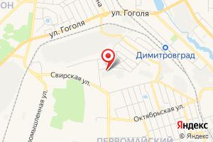 Адрес Электрическая подстанция Мелекесс-Городская на карте