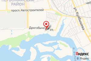 Адрес Ульяновскэнерго на карте
