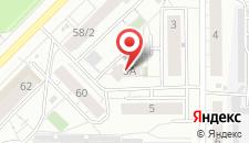 Отель Номера на карте