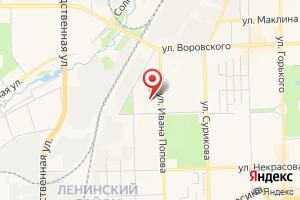 Адрес Газпром газораспределение Киров, лечебно-оздоровительный комплекс на карте