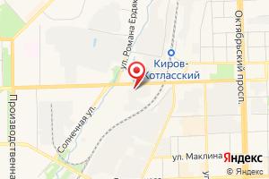 Адрес Северные электрические сети филиала Кировэнерго МРСК Центра и Приволжья на карте