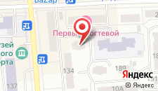 Гостиница Селена на карте