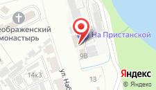 Мини-гостиница Инн На Пристанской на карте