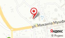 Отель Бадамдар на карте