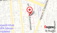 Отель Qafqaz Point Hotel на карте