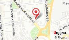 Апартаменты На Курбана Халилова 2 на карте