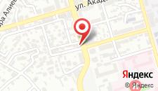 Апартаменты Тенгиз-Баку на карте