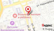 Отель Caspian Palace на карте