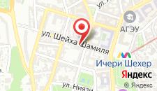 Апартаменты На улице Шейха Шамиля на карте
