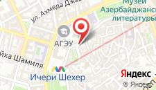 Отель Бута на карте