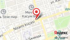 Апартаменты On Nizami 47 на карте