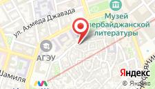 Отель Кичик Гала на карте