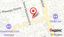 Апартаменты На Хана Шушинского на карте