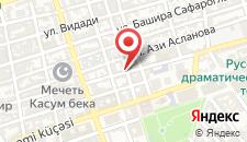 Отель Baku Palace на карте