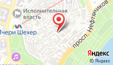 Бутик-Отель Seven Rooms на карте