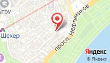 Апартаменты На Магомаева 29 на карте