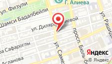 Отель Sapphire на карте