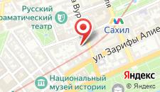 Апартаменты Центр Баку на карте