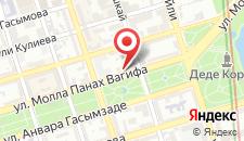Отель Иршад на карте