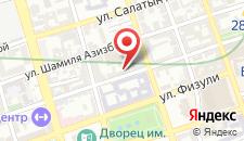 Отель Карат Инн на карте