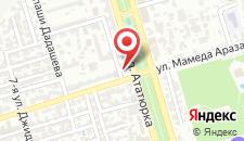 Отель Sabiroglu на карте