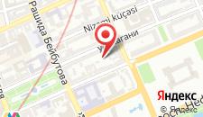 Апартаменты Оn Azadlig avenue 5 на карте