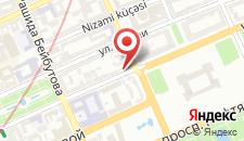 Отель Rigs Baku на карте