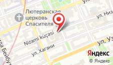 Отель Landmark Baku на карте