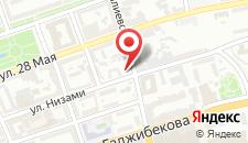 Гостевой дом Baku City Center Guest House на карте