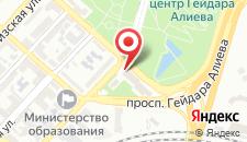 Отель Qafqaz Park на карте