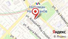 Апартаменты Near metro N.Narimanov на карте