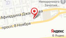Отель Boulevard Side на карте