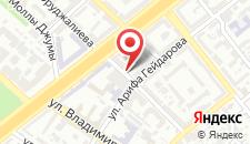 Апартаменты Комфорт Инн Баку на карте