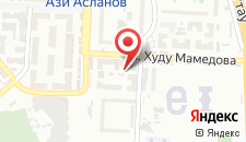 Апартаменты На Худу Мамедова 36 на карте