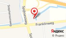 Отель Campanile Hotel & Restaurant Gorinchem на карте
