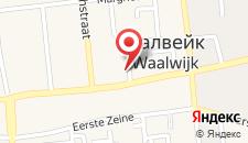 Отель Hotel Waalwijk на карте
