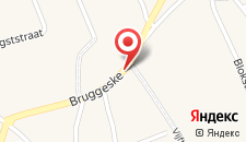 Отель 't Bruggeske на карте