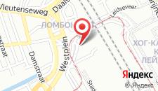 Отель Park Plaza Utrecht на карте
