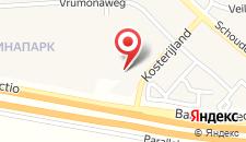 Отель Postillion Utrecht Bunnik на карте