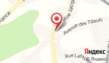 Отель Hotel La Fayette на карте