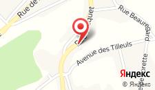 Отель Hotel Le Vieux Logis на карте