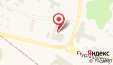 Отель Scandic Bergen Airport на карте