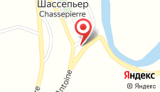 Гостевой дом La Vieille Ferme Chassepierre на карте