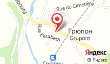 Гостевой дом Repos du Lincon на карте