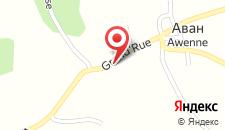 Отель Auberge Du Sabotier на карте