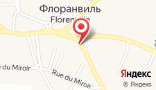 Отель Le Florentin на карте