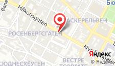 Отель Basic Hotel Bergen на карте