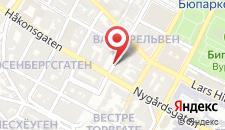 Отель P-Hotels Bergen на карте